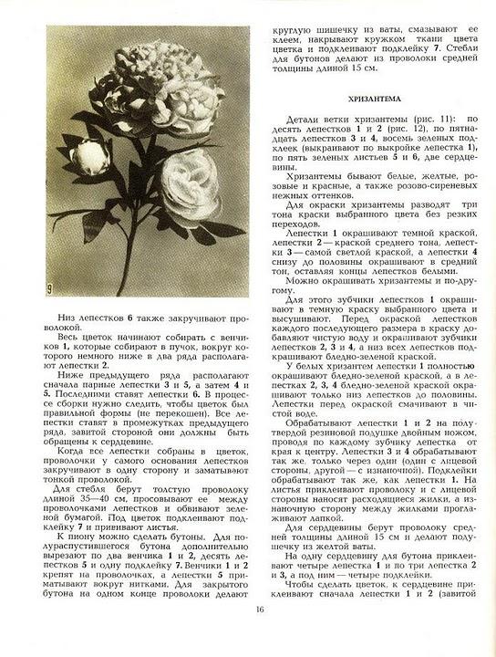 описание изготовления цветов из ткани11