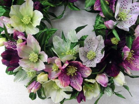 Цветы из ткани своими руками помощью булек